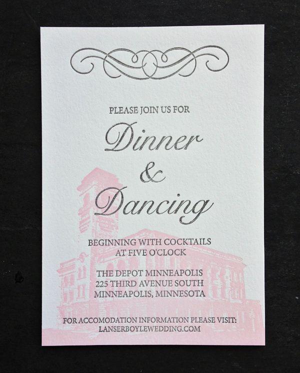 Featured Wedding Invitation Design: Modern Formal Invitation Suite by 622 Press (4)