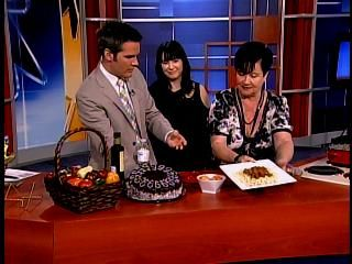 CTV Cooking segment with Helen M. Radics (me) and anchor Kyle Christie - You may also visit my website http://besthungarianrecipes.sharepoint.com