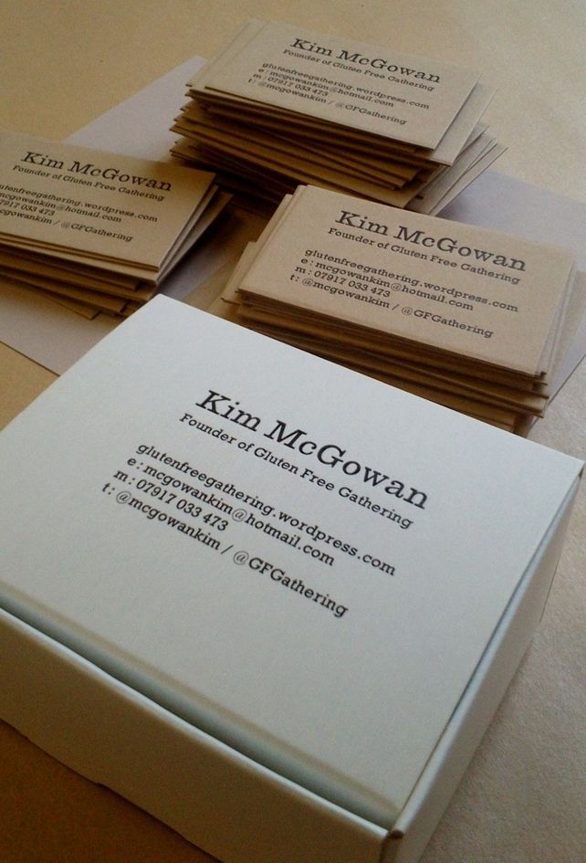 46 best business card inspiration images on pinterest business simple and classic letterpress business cards on brown kraft paper reheart Choice Image