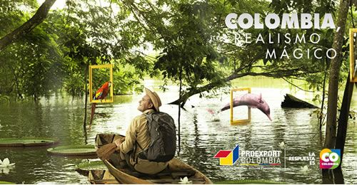 Colombia. Campaña publicitaria en honor a Gabo