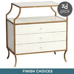 Redford House Milla Side Table with Drawers RH060