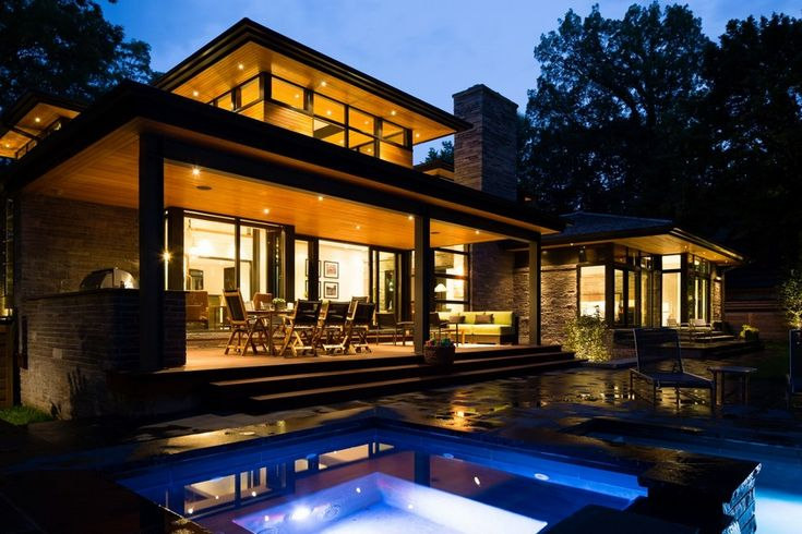 6. Rear Exterior Modern Home Aiming at Converting Traditionalists by David Small Design