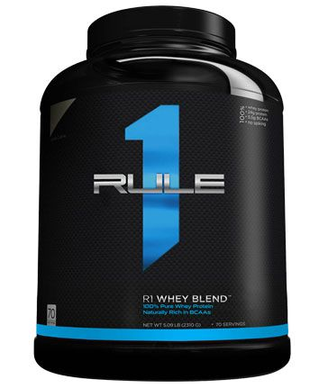 Rule 1 R1 Protein, the new Whey Protein Isolate / Hydrolysed Whey Isolate protein powder for superior absorption and gains.