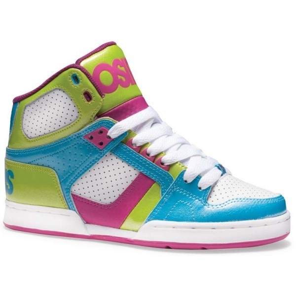 Take a look at this Cyan & Berry NYC 83 Slim Hi-Top Sneaker - Kids by Osiris  Shoes on today!
