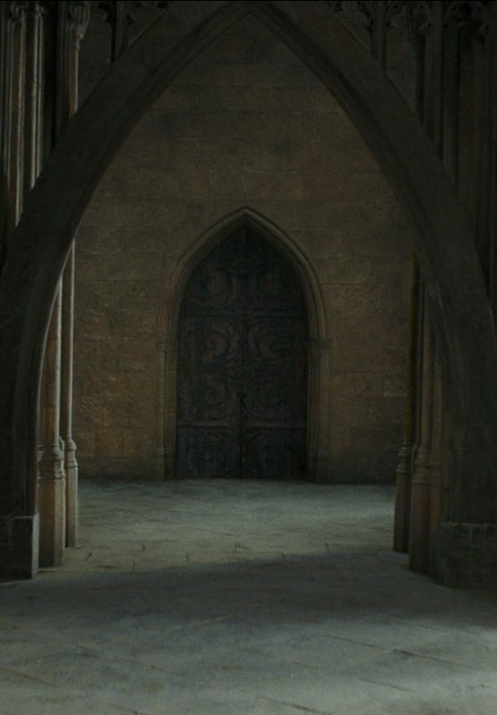 Entrance To The Room Of Requirement Harry Potter Set