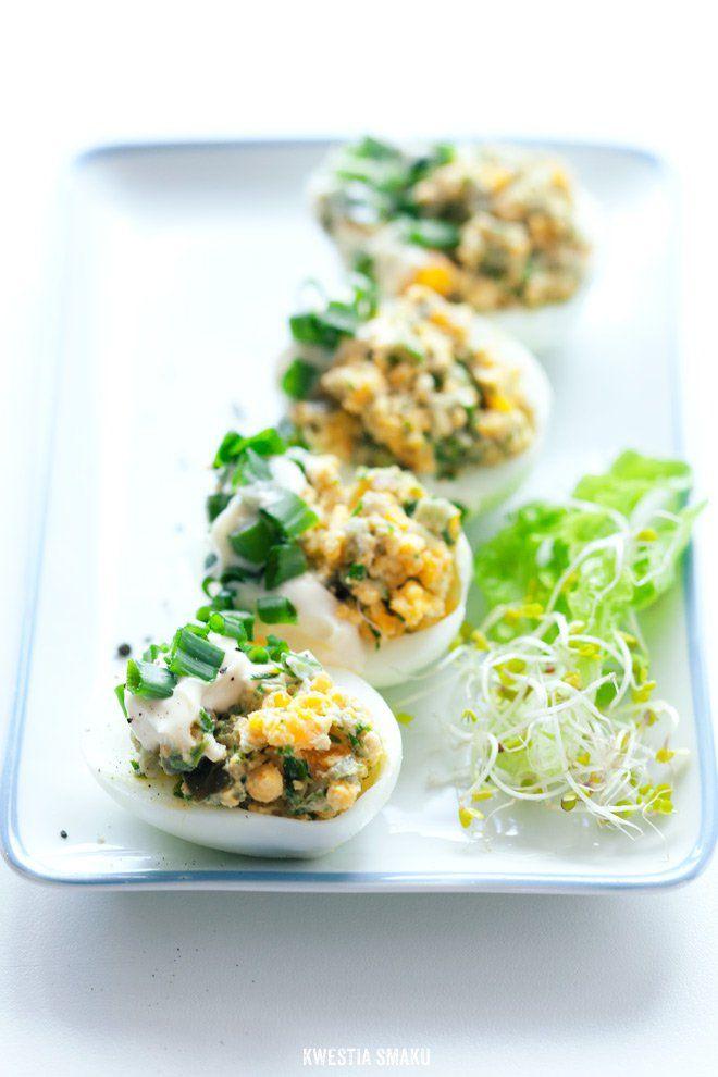 Jajka faszerowane jalapeno