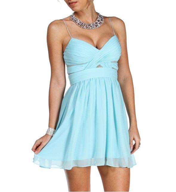 Elly-Mint Prom Dress