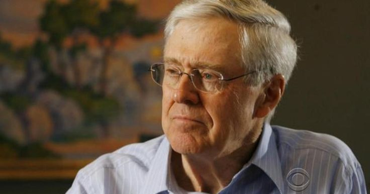 Good Profit by Charles Koch -October 2015  CBS SUNDAY MORNING Interview