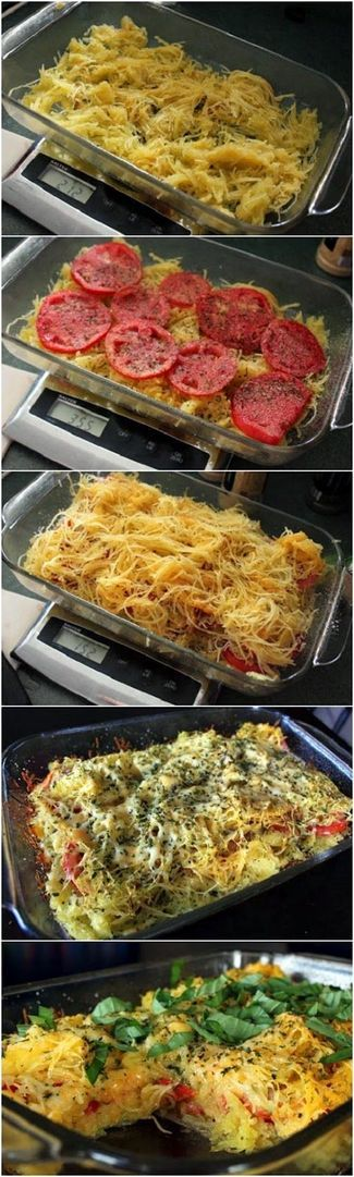 Spaghetti Squash and Tomato Bake | Cookboum