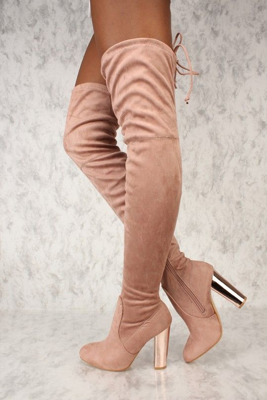 Sexy nude boots