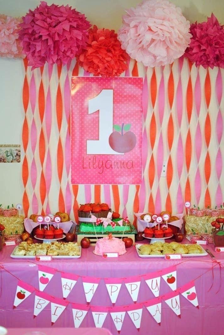 1st Birthday Party Decorations At Home Beautiful Birthday Party Decoration Ideas At Home Imper Dekorasi Pesta Ulang Tahun Dekorasi Ulang Tahun Dekorasi Pesta