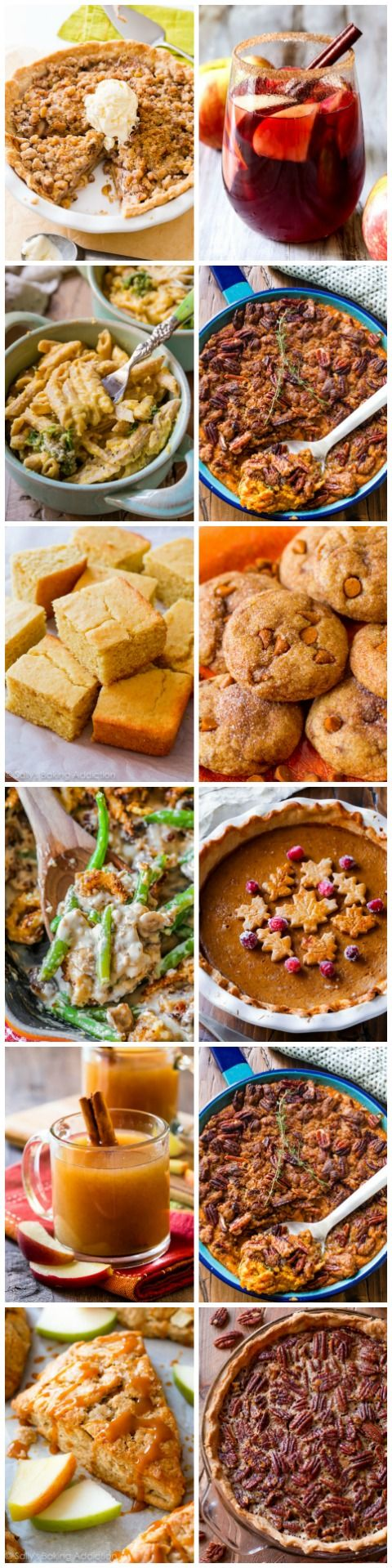 Dozens of delicious recipe ideas for your Thanksgiving feast! All with make-ahead tips, photos, and easy to follow instructions!