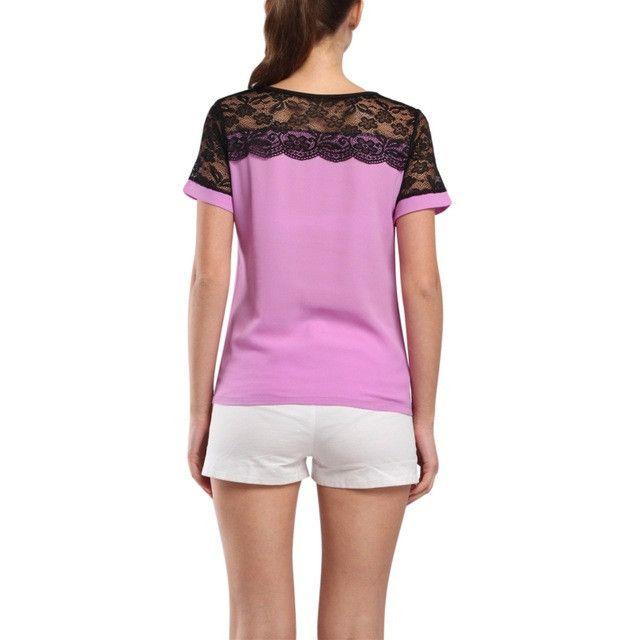 Fashion Women Blouses Summer Lace Chiffon Blouse 2016 Blusa Feminina Tops Fashion Chemise Femme Shirts 4XL Plus Size
