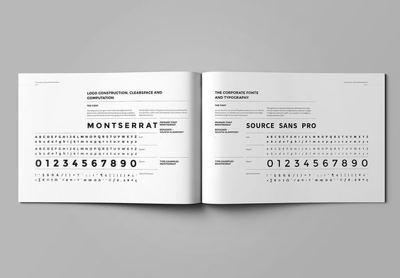 Brand Manual and Identity Template – Corporate Design Brochure – with real text!!!Minimal and Professional Brand Manual and Identity Brochure template for creative businesses, created in Adobe InDesign in International DIN A4 and US Letter format.Get …: