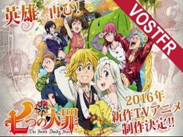 Regarder le manga animé Nanatsu no Taizai: Seisen no Shirushi VOSTFR Episode 1 en streaming.