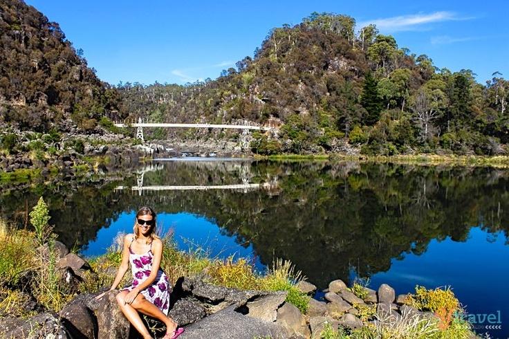 "Bucket List - Beautiful ""Cataract Gorge"" in Tasmania Australia"