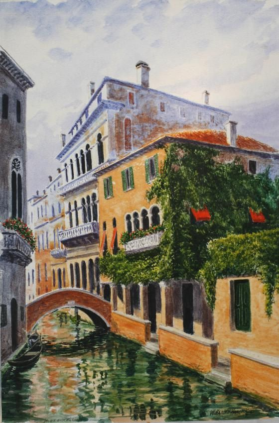 Venice Canal Painting | Venice Italy Painting | Venetian ...