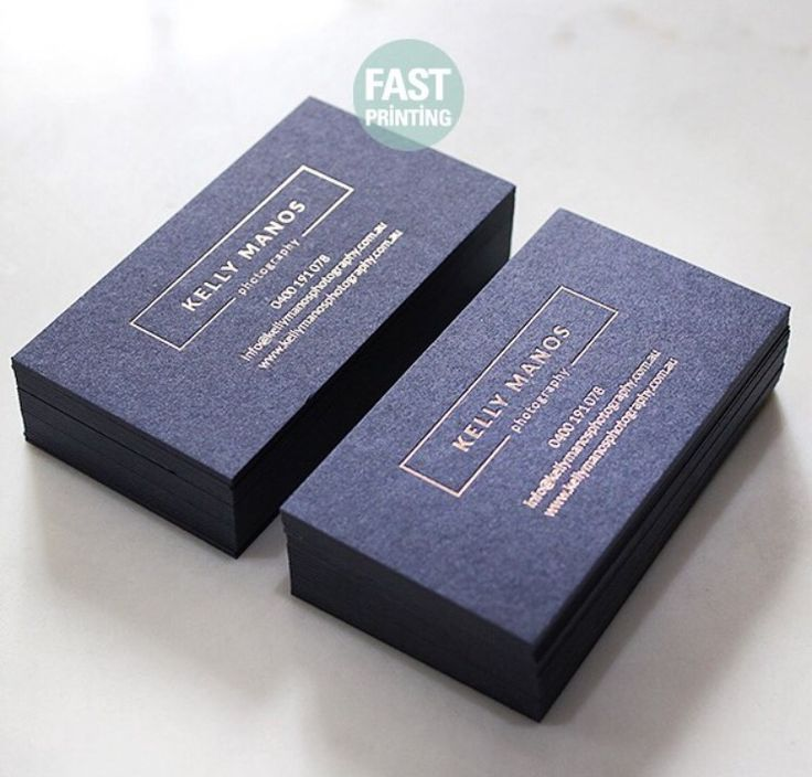matt gold foil finish on gmund navy stock which is available in 350gsm16pt