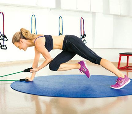 How to Build a Home Gym: Lay down a Fit-Friendly Floor. Make sure you cover your workout surface in something that is kind to the joints (a.k.a. shock-absorbant) #SelfMagazine