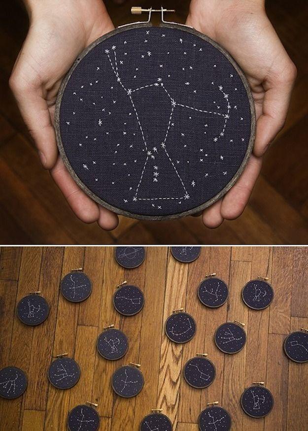 7 DIY de constelaciones - El tarro de ideasEl tarro de ideas