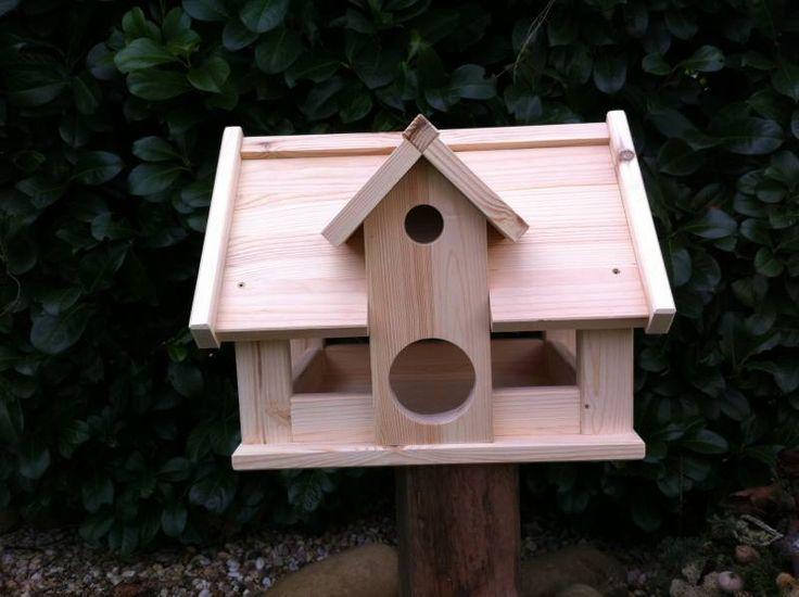 Delightful Selber Bemalen,mit Unserm Vogelhaus Typ Landhaus Erwerben Sie Ein Vogelhaus  Welches Ein Wunderschönes Deko