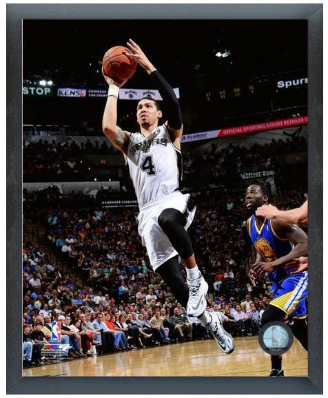 Danny Green 2013-14 San Antonio Spurs - 11 x 14 Photo in Glassless Sports