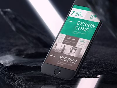 Wonderful Mobile Homescreen Dashboard IPhone 6 By Ben Schade