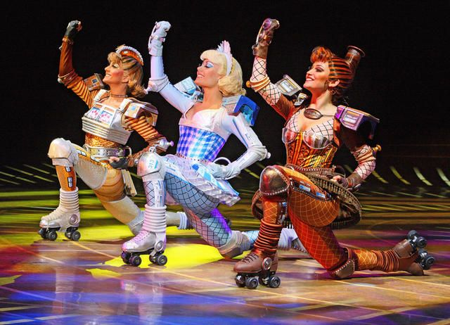 STARLIGHT EXPRESS, saw this in Vegas when I was little with my parents, would love for it to be revived