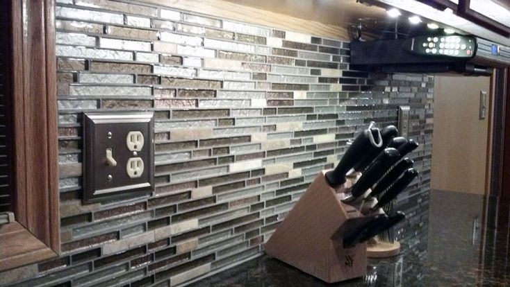 Bostik dimensions grout for the home pinterest for Dimensional tile backsplash