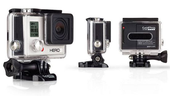 The Go Pro Camera is no-brainer Valentine's Day gift for any man. http://www.hommestyler.com/valentines-day-gift-for-men/