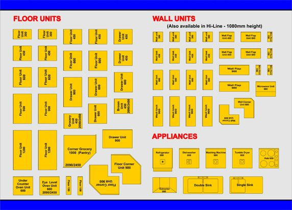 Use our template system to design a top view layout of for Cabinet planner free