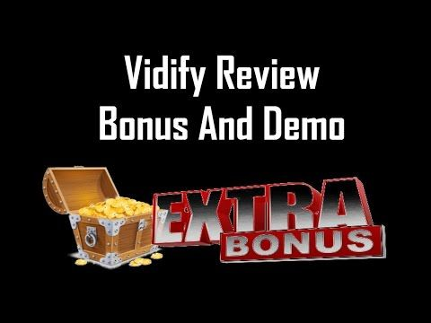 Vidify Review https://review-and-bonus.net/vidify-review-demo-plus-huge-bonus Vidify Review - what is it? Vidify is a web-based SAAS platform to research key...