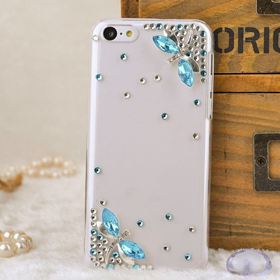 cute phone case 5c iphone 5s clear cover and case by Walletcase, $12.90
