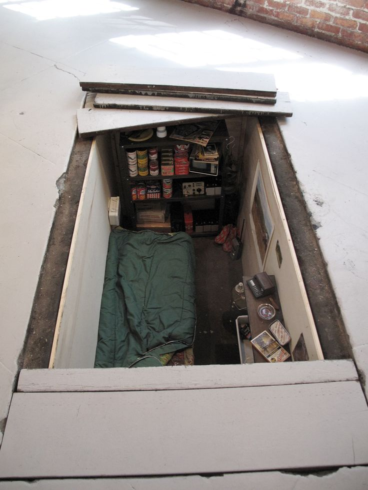 Want a secret bunker