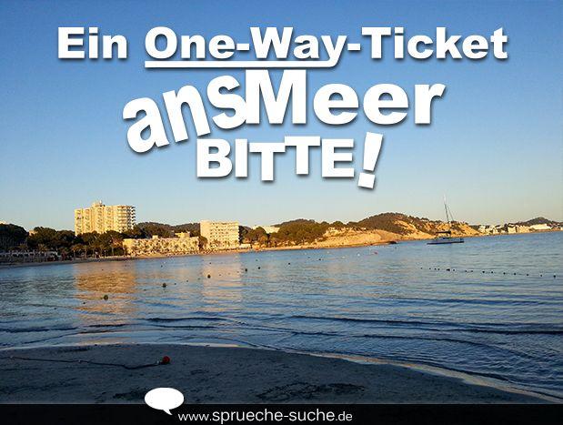Reif für die insel! | An, Ein and Ticket