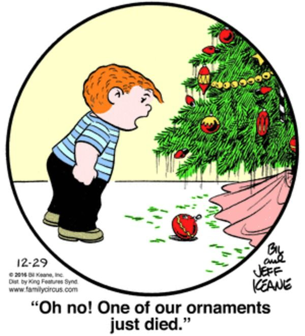 Family Circus for 12/29/2016
