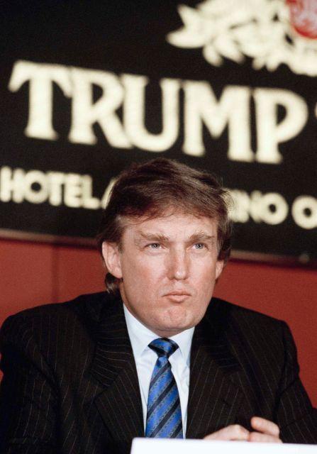 Donald Trump in Manhattan on Nov. 20, 1990.