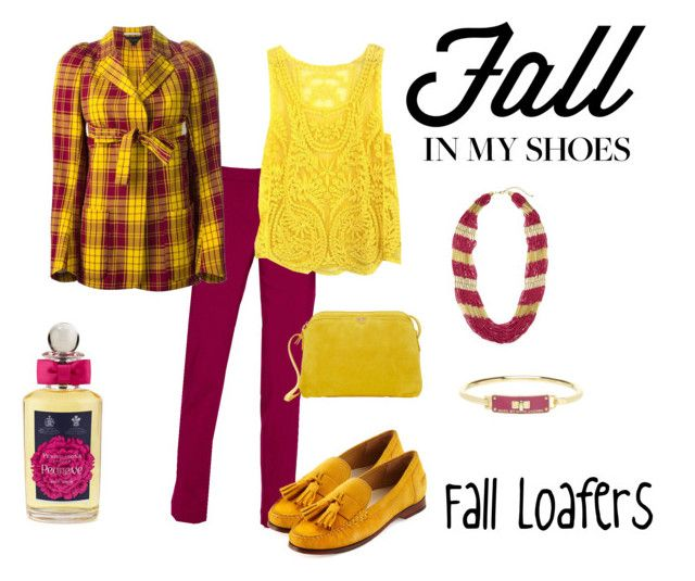 """""""Fall Loafers"""" by mtroxel17 ❤ liked on Polyvore featuring Worthington, Comme des Garçons, Cole Haan, The Row, PENHALIGON'S and Marc by Marc Jacobs"""