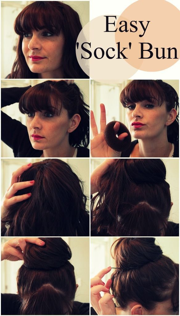 6 Lovely Ways To Make Bun Hairstyle