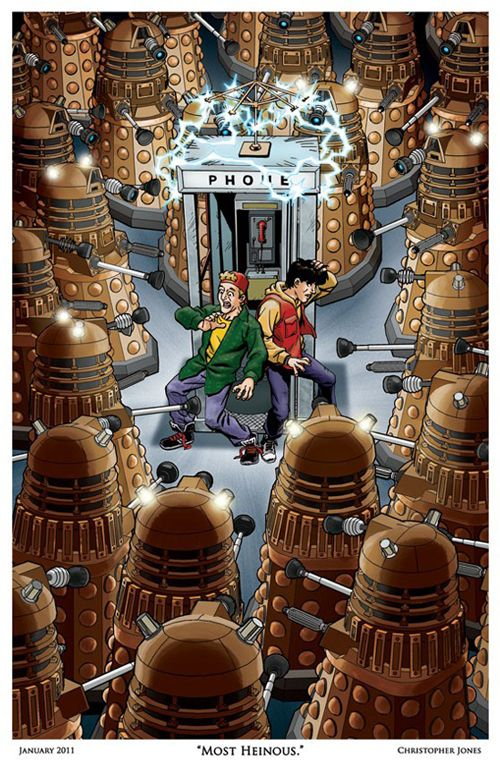 I like both Bill and Ted AND Doctor Who....but funny picture