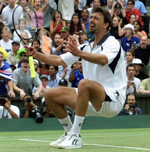 Goran Ivanisevic. One of my all time favorite players from Croatia