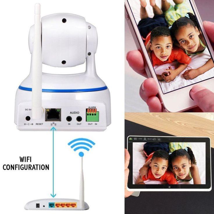 Kamera Überwachungskamera Wifi Überwachung 1080P Full HD Tag Nacht Funk Cam