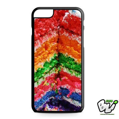 Colorful Rainbow Cake iPhone 6 Plus | iPhone 6S Plus Case
