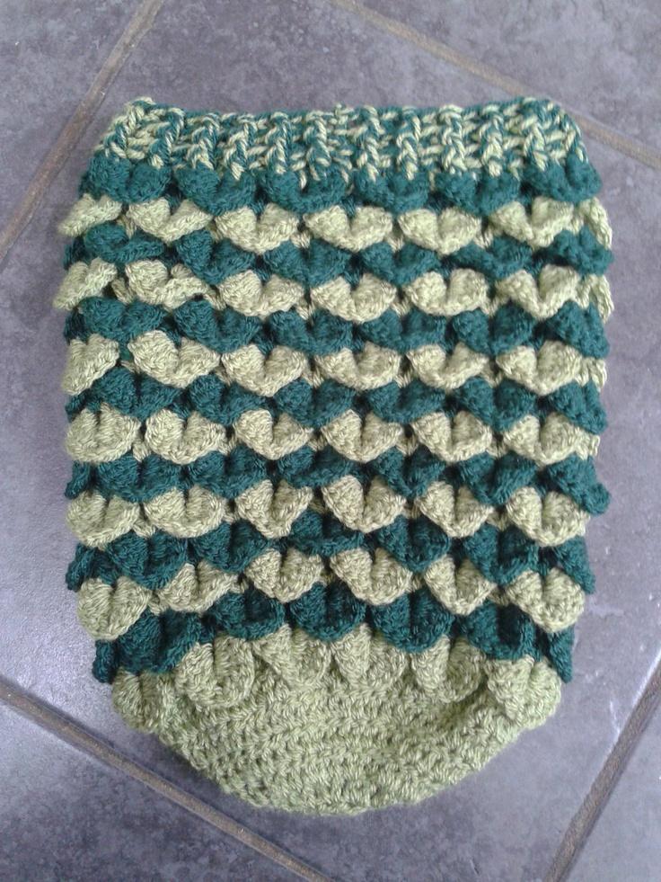 53 best Crochet crocodile stitch images on Pinterest | Crocheting ...