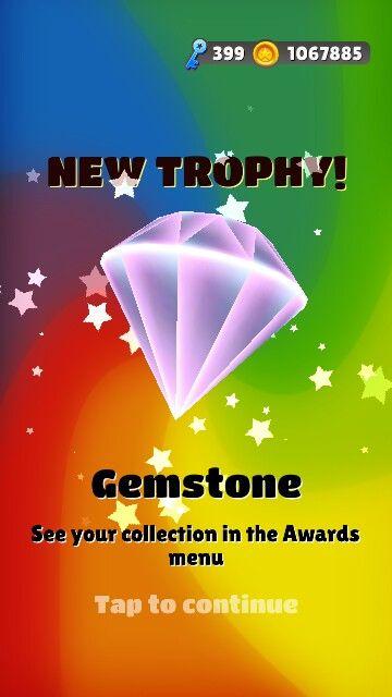Gemstone in Subway surfers