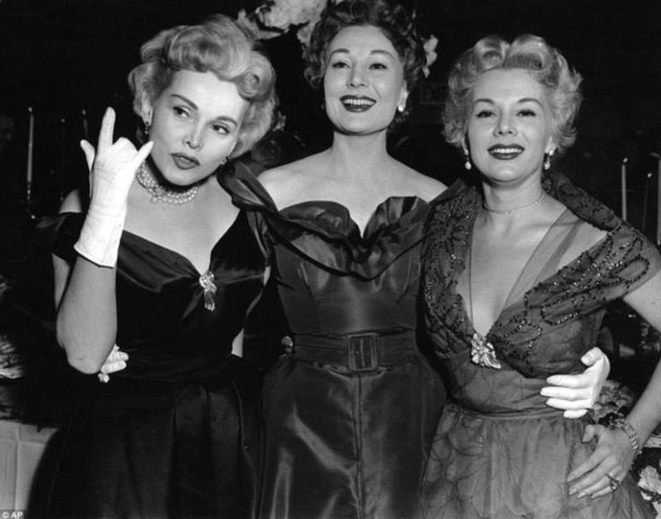 The Gabor Sister's, Zsa Zsa, Magda and Eva....they were so beautiful.