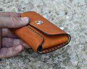 Leder Brieftasche-Herren Brieftasche-Leder Kartenhalter Leder-Handmade