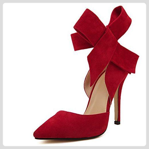 fereshte ,  Damen Knöchel-Riemchen , rot - rot - Größe: 37.5 - Sandalen für frauen (*Partner-Link)