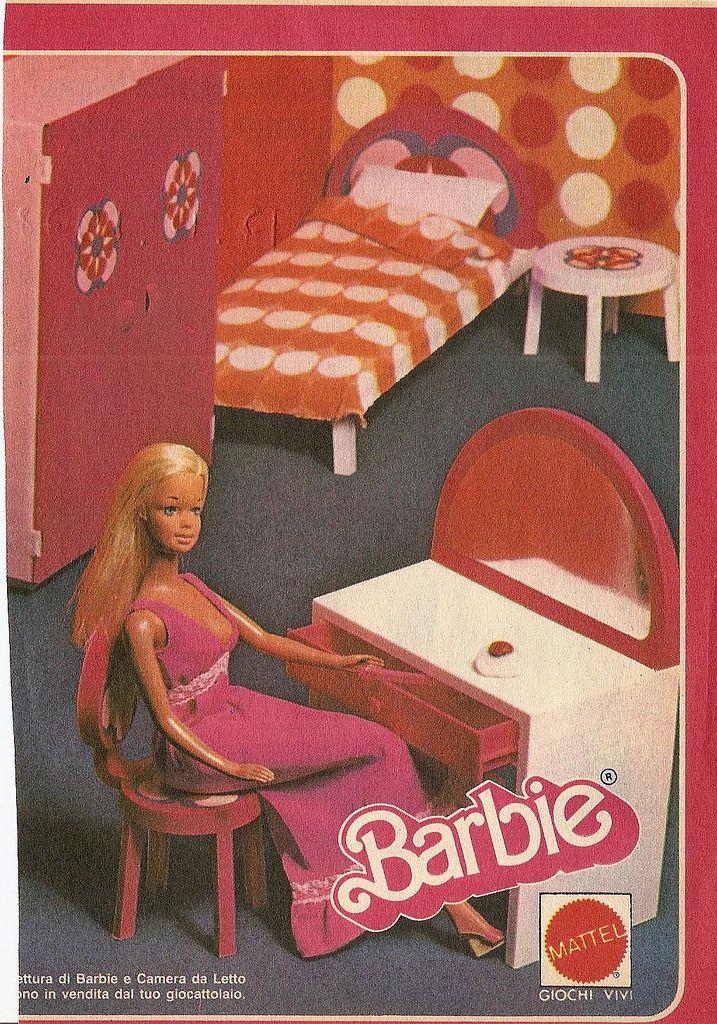 https://flic.kr/p/67SjsR | Camera da Letto di Barbie | Topolino del 17 Dicembre 1978