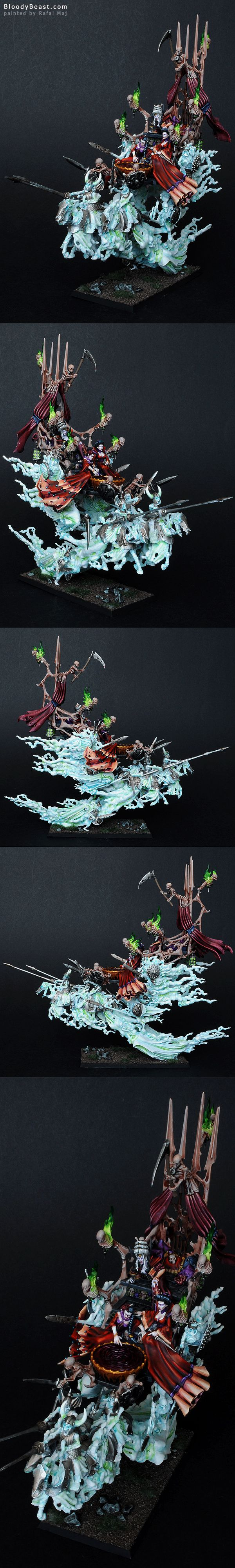 Vampire Counts Coven Throne painted by Rafal Maj (BloodyBeast.com)